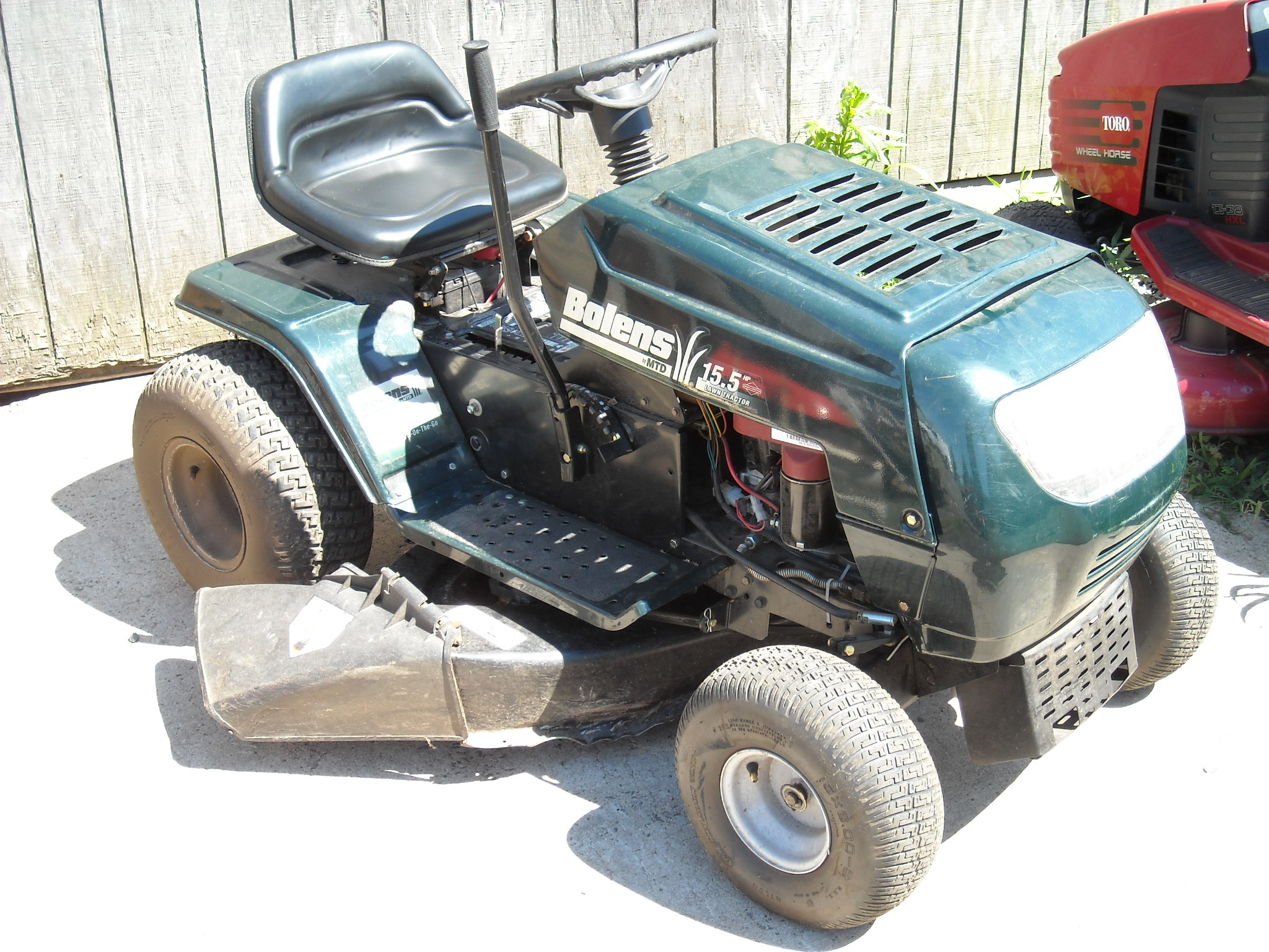Bolens Lawn Tractor 15 5 Hp 38 Quot Mower 6 Speed Trans